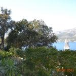 Pogled s vrtne terase