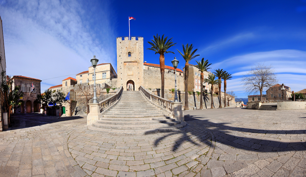 Korcula main town gate