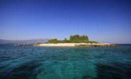 islet Gubavac near Korcula